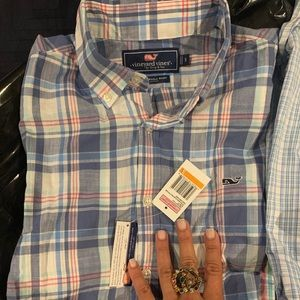 Nwt Vineyard Vines Slim fit wale shirt